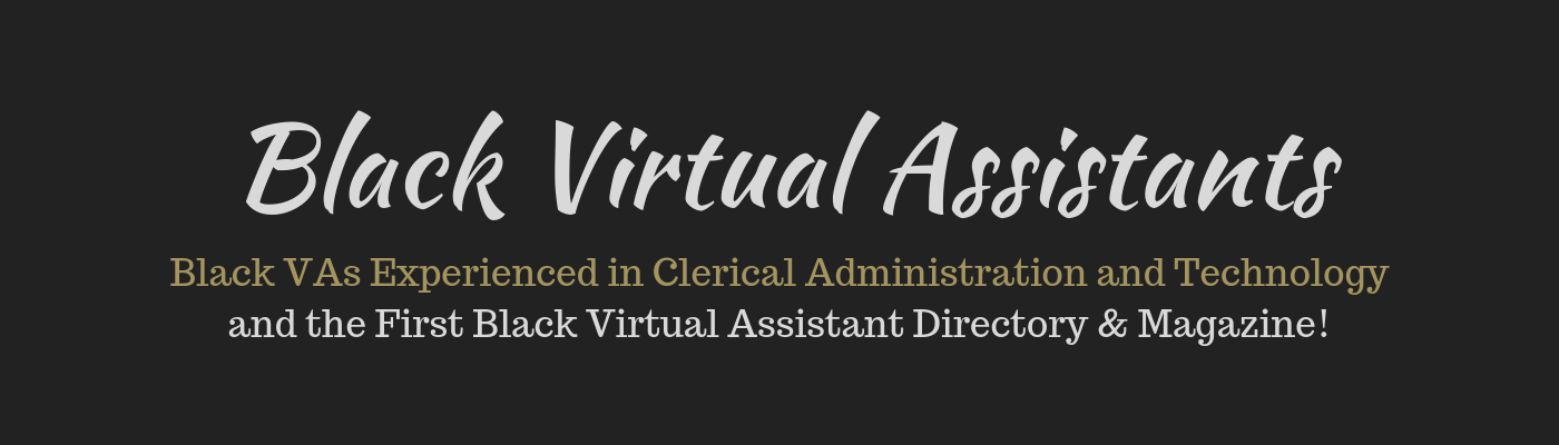 Black Virtual Assistants